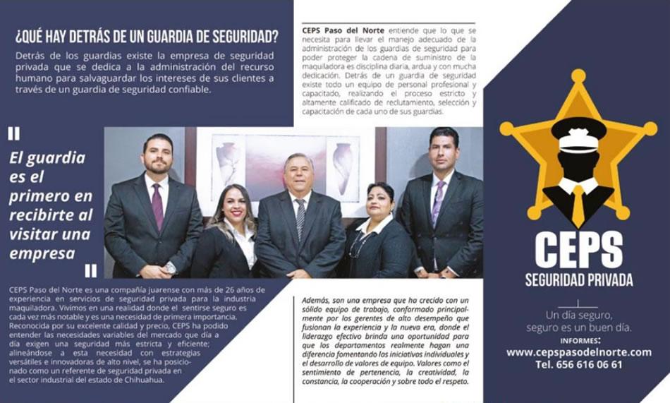 CEPS en Revista MEXICO INDUSTRY Edición Octubre 2020