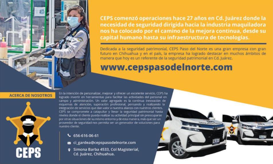 CEPS en Revista MEXICO INDUSTRY Edición Febrero 2021